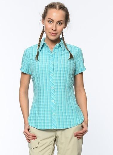 Kısa Kollu Kareli Gömlek-Columbia